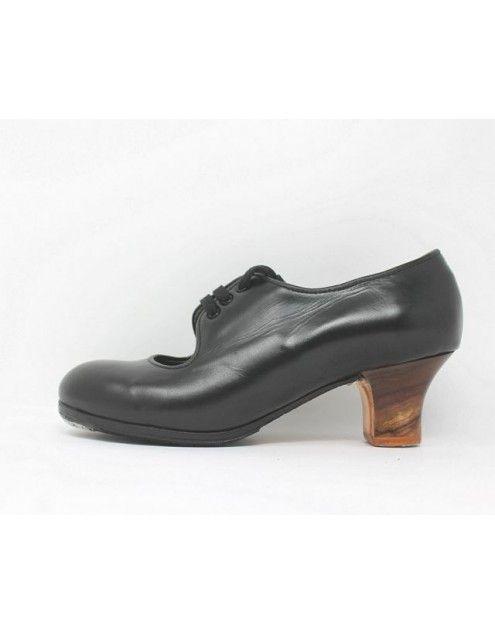 Carmen 37.5 AA+PR Leather Negro Carrete 5 Visto