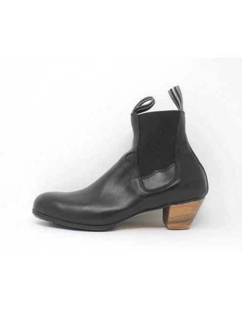 Boto 42.5 AA Leather Negro Cubano 5 Visto