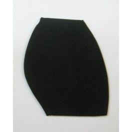 Half sole black for men