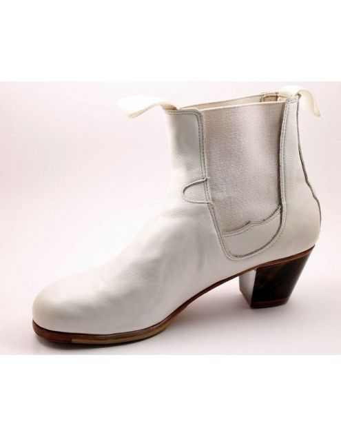 Boto 36 A Leather Blanco Cubano 5 Visto