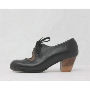 Carmen 42 AA Leather Negro Cubano 5 Visto
