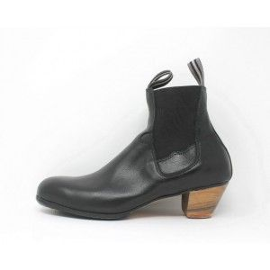 Boto 42.5 AA Leather Negro Cubano 5 Visto