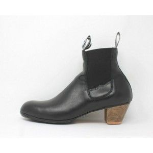Boto 43 A Leather Negro Cubano 5 Visto