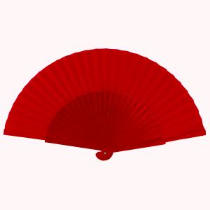 Abanico Pericon 30CM Color Rojo