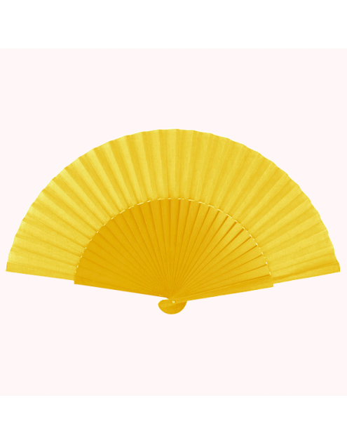 Abanico Pericon 30cm Color Amarillo