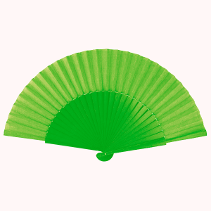 Abanico Pericon 30CM Color Verde