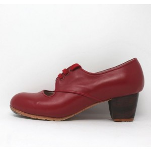 Carmela 40 AA Leather Rojo Jerezano 5 Visto