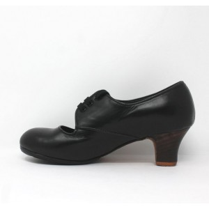 Carmen 37.25 AA Leather Negro Carrete 5 Visto