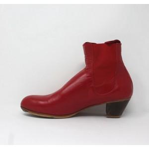 Boto 41,5 E Leather Rojo Sangre Cubano 5 Visto