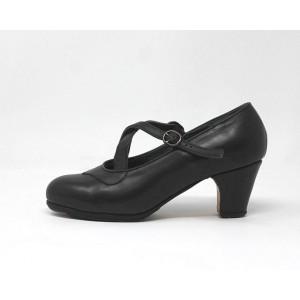 Cruzado 39,5 A Leather Negro Clásico 6 Forrado