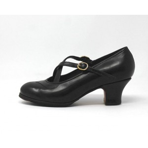 Cruzado 38,5 AA Leather Negro Carrete 5 Forrado