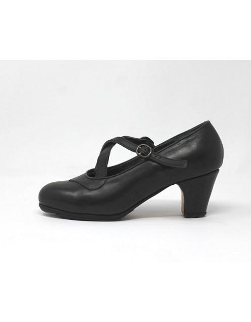 Cruzado 37,5 AA Leather Negro Clásico 5 Forrado