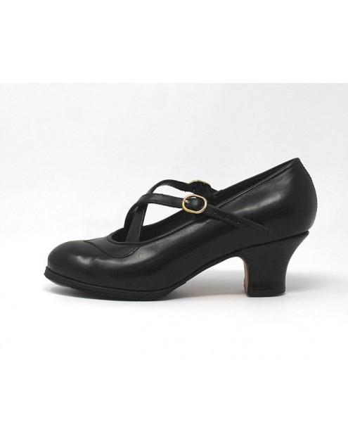 Cruzado 35,5 AA Leather Negro Carrete 5 Forrado