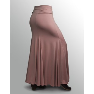 Skirt Basic 3 Godets Rosa