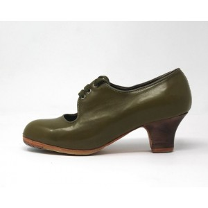 Carmen 34.5 A Leather Aceituna Carrete 5 Visto