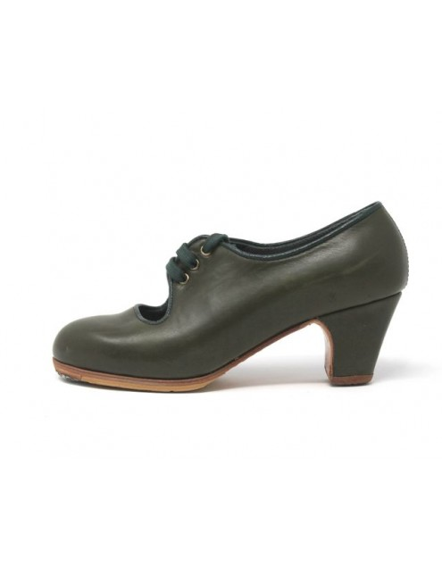 Carmen 34 A Leather Aceituna Clasico 5 Forrado Ribete Musgo