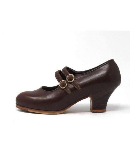 Manuela 34 A Leather Marron Carrete 5 Visto