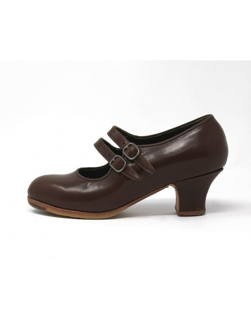 Manuela 34 A Leather Marron Carrete 5 Forrado
