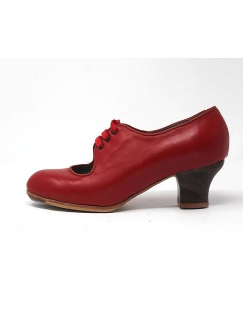 Carmen 36 E Leather Rojo Sangre Bobina 5 Visto