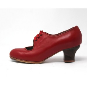 Carmen 36 E Leather Rojo Sangre Bobina 5 Visto