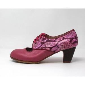 Carmela 39,5 A+PR Leather Rosa Clasico 5 Visto Atras Coco