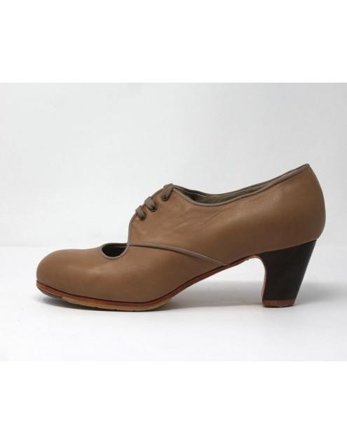 Carmela 40 AA Leather Sahara Clasico 5 Visto