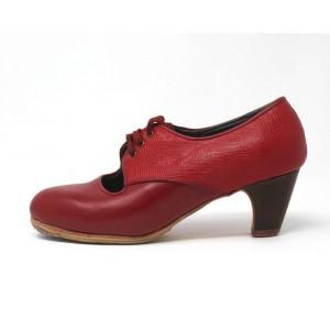 Carmela 36,5 A Leather Rojo Clásico 5 Visto Atrás Coco