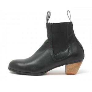 Boto 41,5 A Leather Negro Cubano 5 Visto