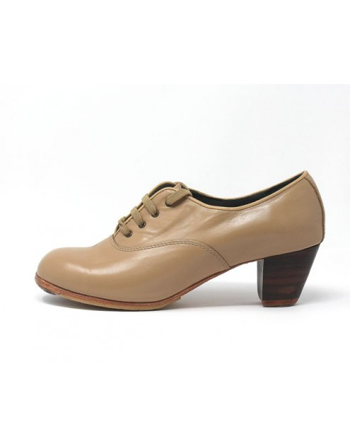 Chapín Mujer 39,5 AAA+PR Leather Beige Cubano 5 Visto