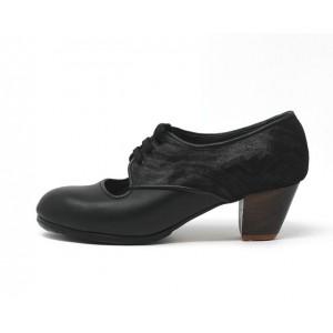 Carmela 38 A Leather Negro Cubano 5 Visto Atrás Charlot