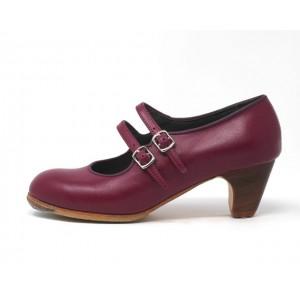 Manuela 37,5 A+PR Leather Magenta Clásico 5 Visto R, Morado