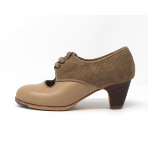 Carmela 34 A+PR Leather Beige Clásico 5 Visto Atrás Serpiente 21
