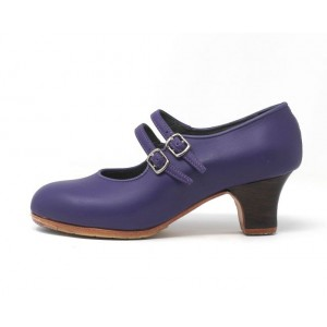 Manuela 36,5 A+PR Leather Morado Carrete 5 Visto