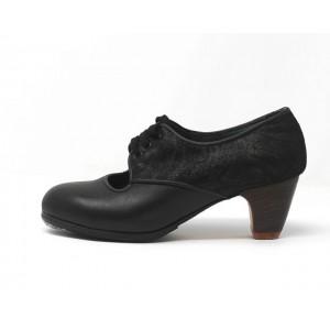Carmela 35,5 AA+PR Leather Negro Clásico 5 Visto Atrás Fantasía