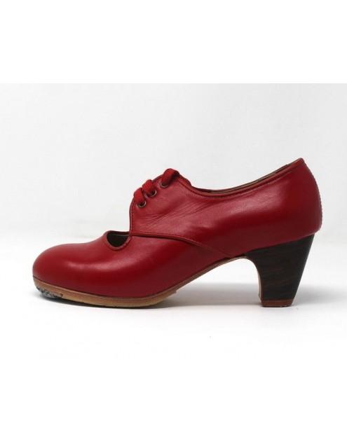 Carmela 34,5 A+PR Leather Rojo Clásico 5 Visto