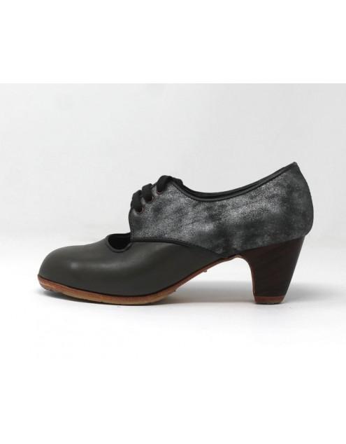 Carmela 35 A+PR Leather Gris Clásico 5 Visto Atrás Fantasía