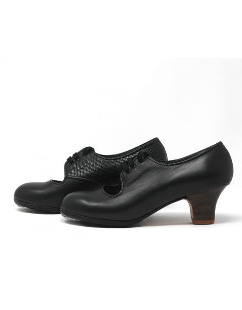Carmen 37,5 A+PR Leather Negro Carrete 5 Visto Interior Fantasía