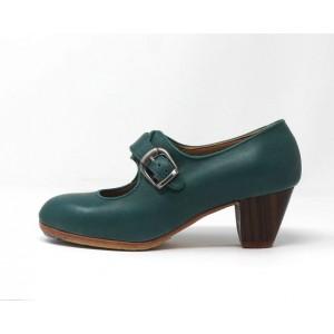 Lola 37,5 A Leather Verde Marino Cubano 5 Visto