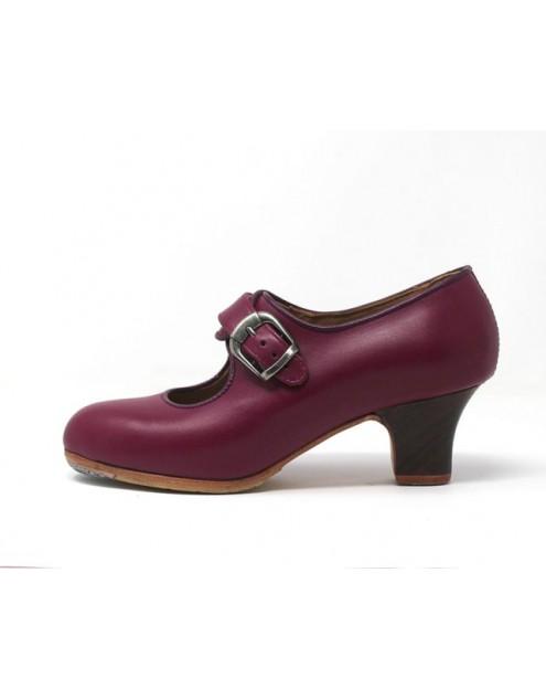 Lola 37,5 A Leather Magenta Carrete 5 Visto
