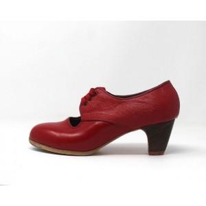 Carmela 37,5 AA Leather Rojo Sangre Clásico 5 Visto Atrás Coco
