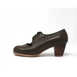Carmen 34,5 AA Leather Aceituna Cubano 5 Visto