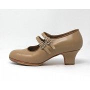 Manuela 34,5 A Leather Beige Carrete 5 Forrado R. Camel