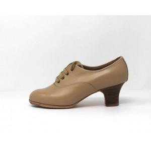 Chapín Mujer 36,5 AA Leather Beige Carrete 5 Visto