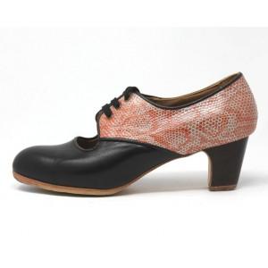 Carmela 40,5 A Leather Negro Clásico 5 Visto Atrás Serpiente 19