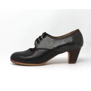 Carmela 40,5 A+PR Leather Negro Clásico 5 Visto Atrás Fantasía