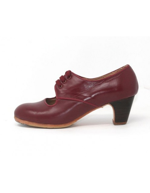 Carmela 37,5 A+PR Leather Burdeos Clásico 5 Visto