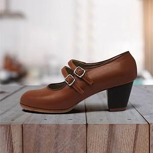 Manuela 34 A+PR Leather Camel Cubano 5 Visto