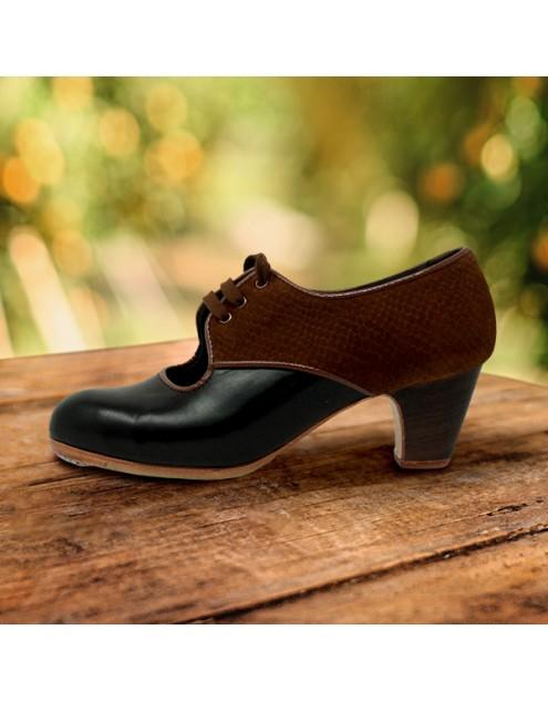 Carmela 35,5 AA Leather Negro Clásico 5 Visto Atrás Serpiente 22