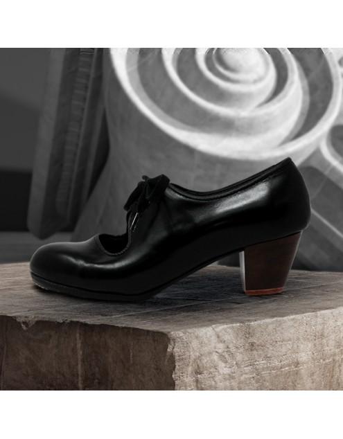 Carmen 34,5 AA Leather Negro Cubano 5 Visto