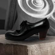 Carmen 34,5 AA+PR Leather Negro Cubano 5 Visto